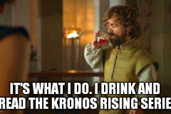 GOT tyrion drink and read meme